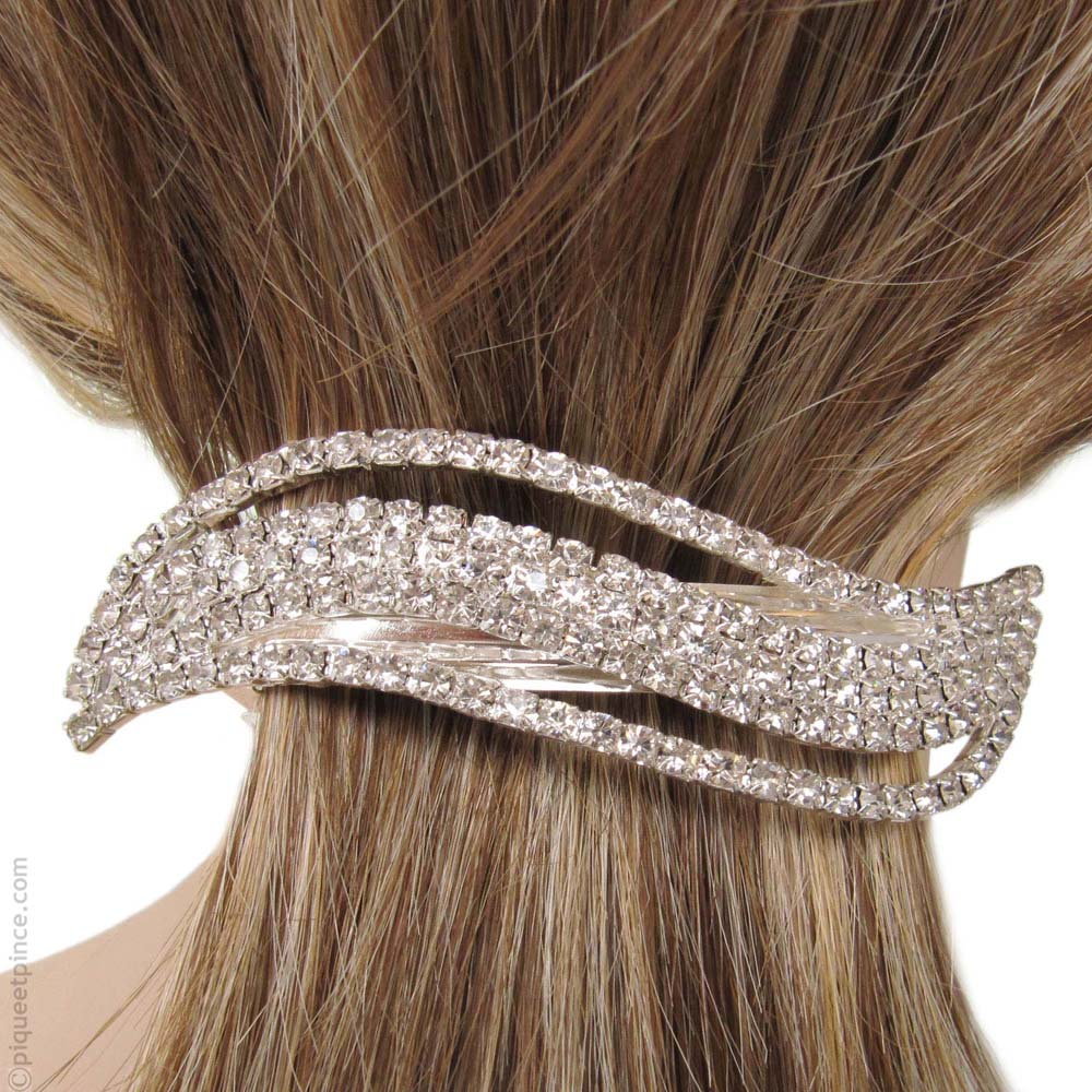 nouvelle sélection Beau design avant-garde de l'époque Le retour de la pince crabe cheveux pour femme